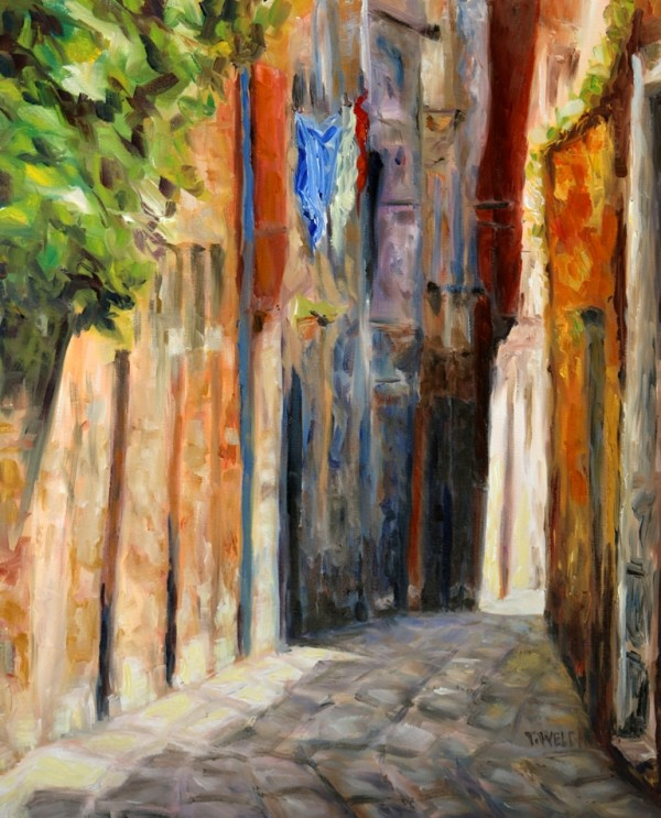 Wabi Sabi Alley in Venice by Terrill Welch