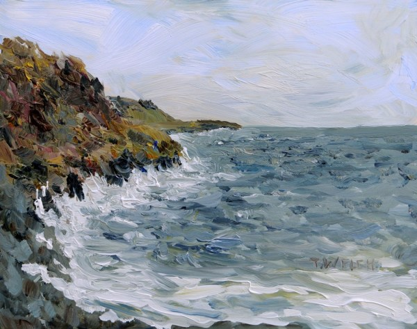 Westerly Winds Coming Ashore  by Terrill Welch
