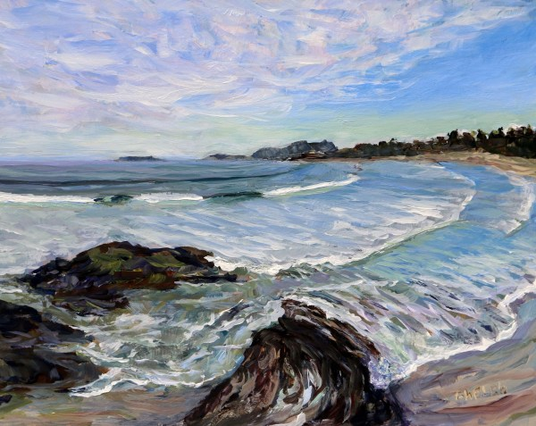Wickininnish Beach Study by Terrill Welch