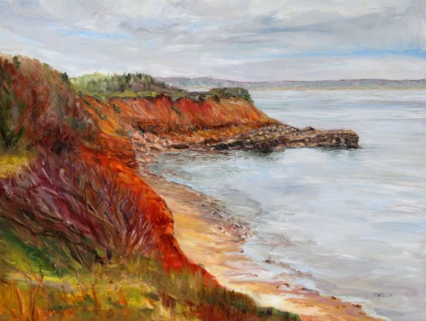 Wind Swept Murray Head PEI by Terrill Welch