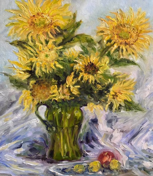 Katherine's Sunflowers by Terrill Welch