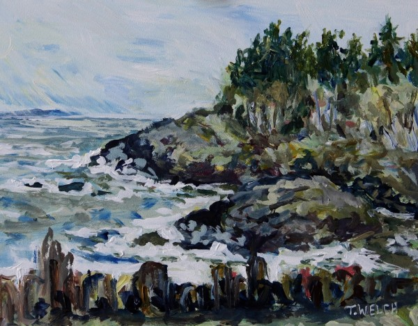 Winter At the Beach House by Terrill Welch