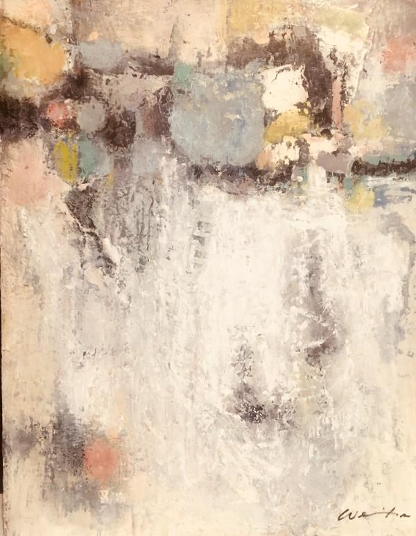 Karen wehs的《白色抽象