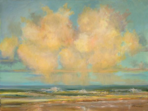 Karen wehs的《海滩云朵》
