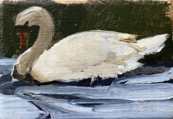 Swan I by Philine van der Vegte