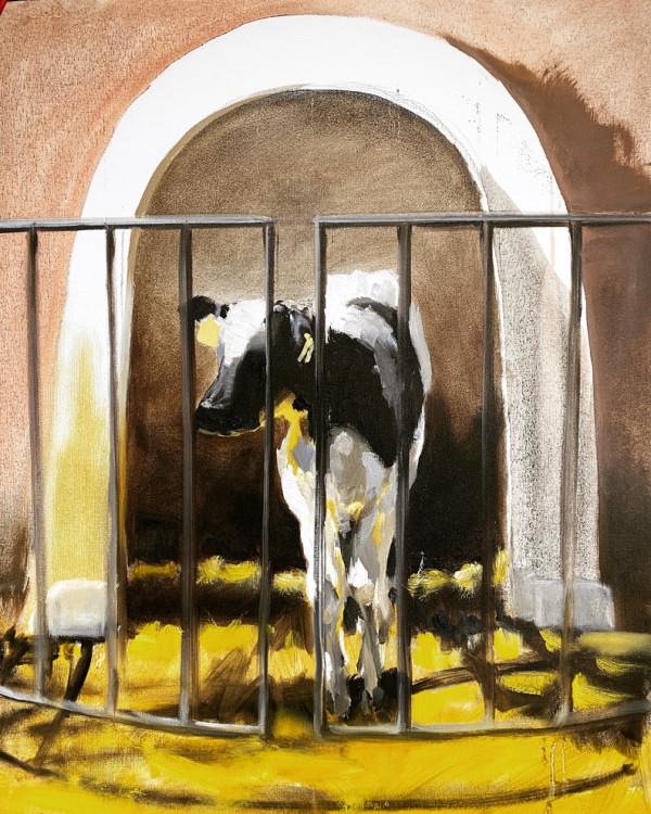 Calf study IV by Philine van der Vegte