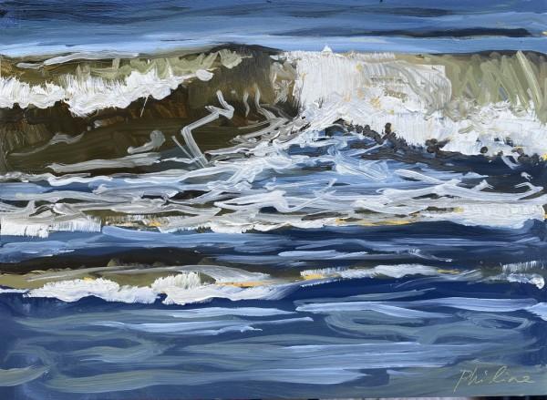 Seventh wave by Philine van der Vegte