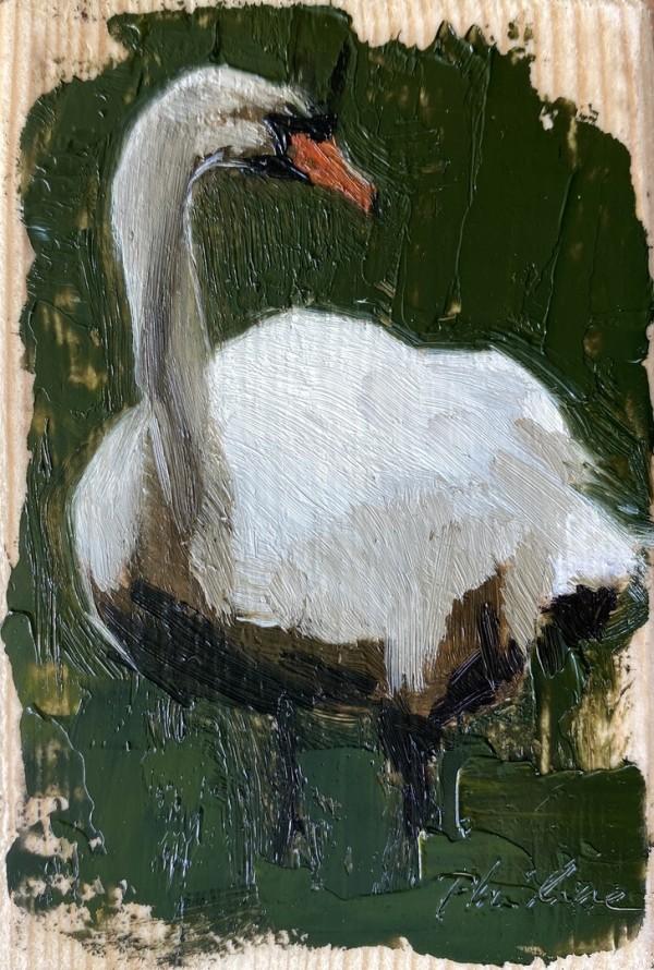 Swan IV by Philine van der Vegte