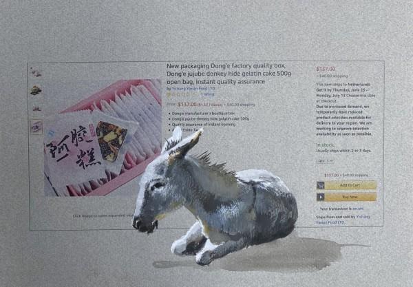Donkey hide gelatin 500g