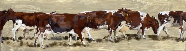 Milking time by Philine van der Vegte