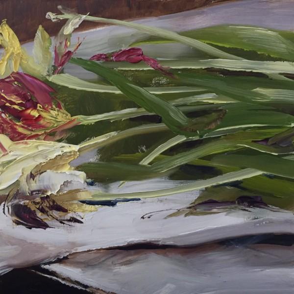 Last week's tulips by Philine van der Vegte