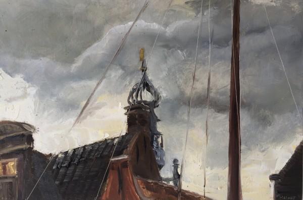 Monnickendam rooftops