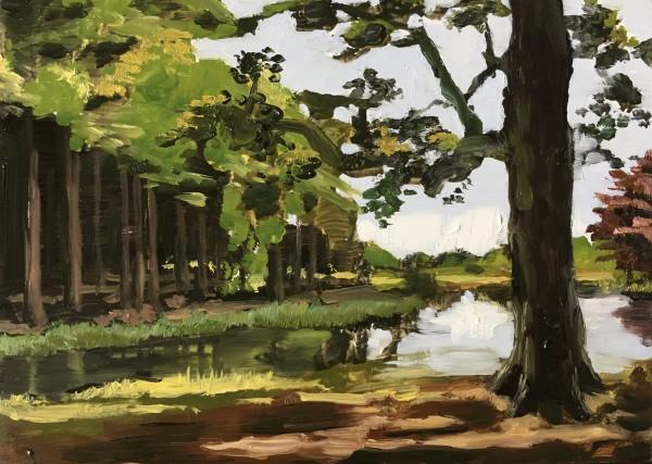 Oak tree (Eik aan het water)