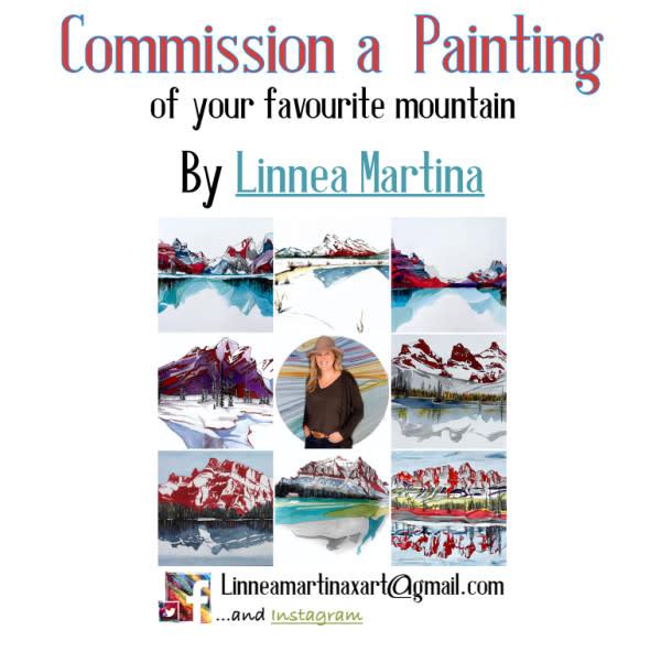 *Commission your Favourite Mountain   Linnea Martina Hannigan by Linnea Martina  Hannigan