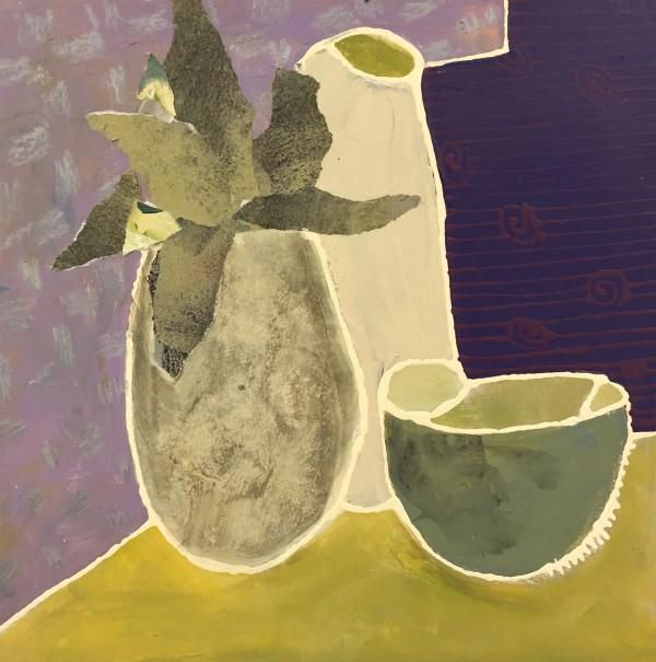 Still Life with Bowl by Jill Krasner