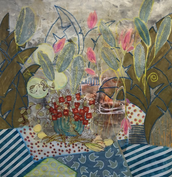 Tropical Picnic by Jill Krasner