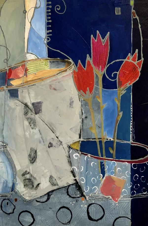 ThreeTulips by Jill Krasner