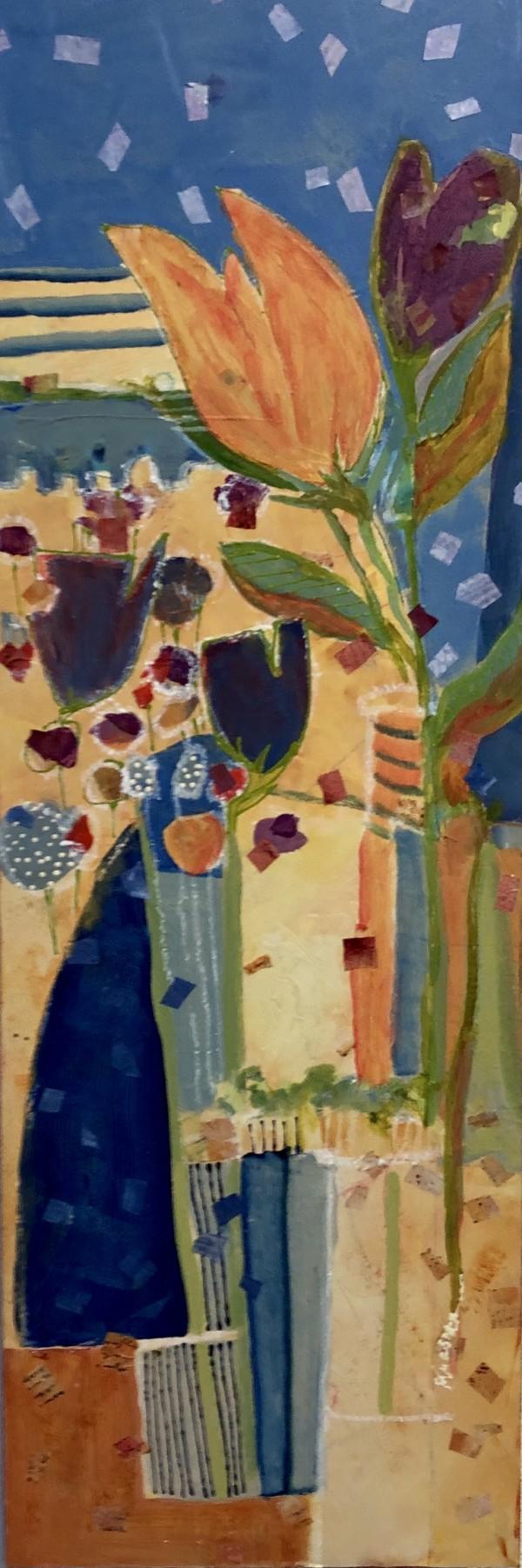 ORANGE TULIPS by Jill Krasner