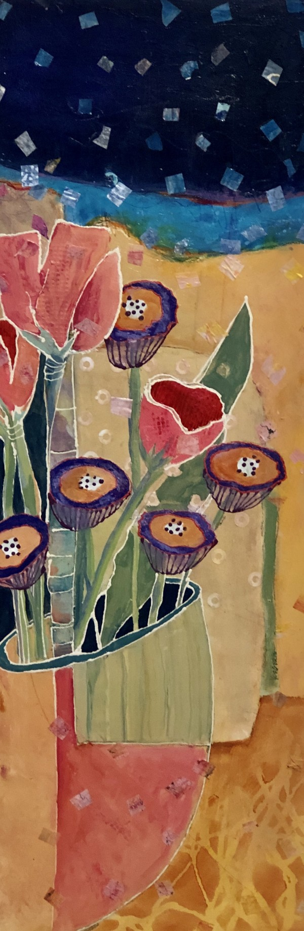 PINK TULIPS by Jill Krasner