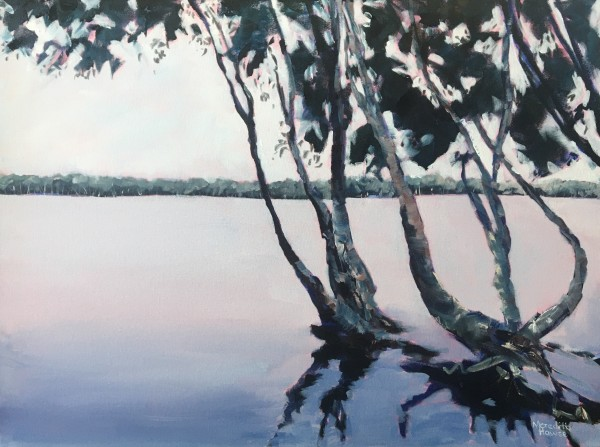 Lake Ainsworth, Lennox Head by Meredith Howse