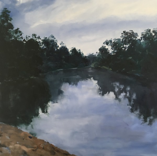 Sandy Beach - Macintyre River by Meredith Howse