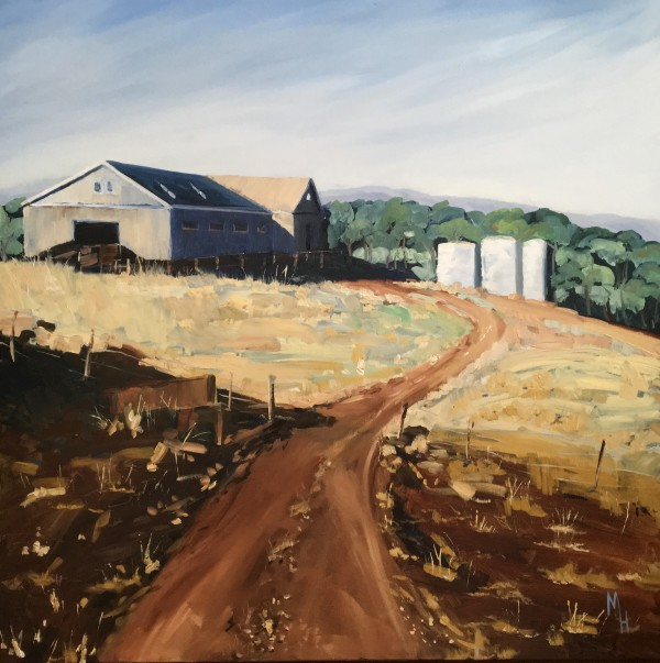 Shearing Shed by Meredith Howse