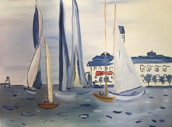 Inspired by Dufy by Meredith Howse