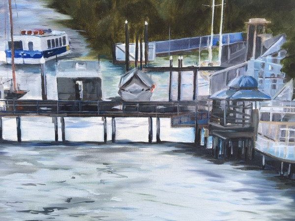 Wharf at Kangaroo Point by Meredith Howse