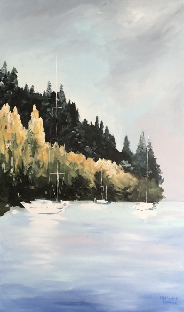 Queenstown Autumn by Meredith Howse