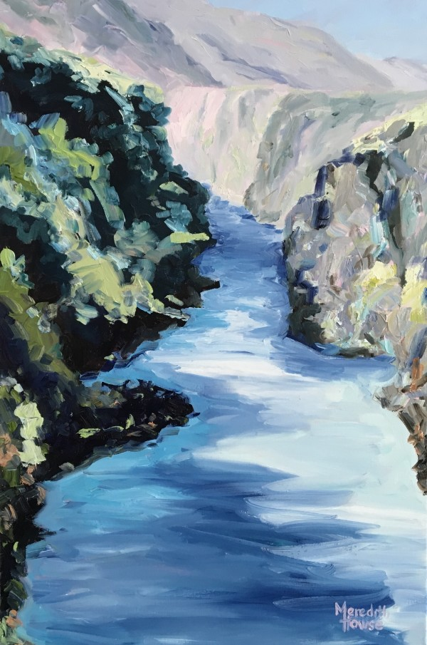 River Running Blue by Meredith Howse