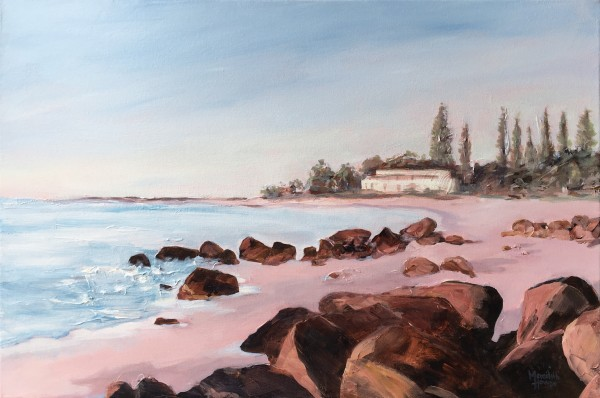 Sunset at Rainbow Bay - Commission by Meredith Howse