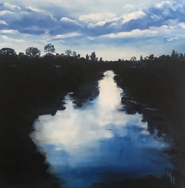 Waikato River by Meredith Howse
