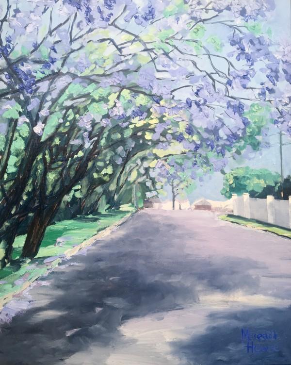 Jacarandas - 'Saturday at Grant' by Meredith Howse