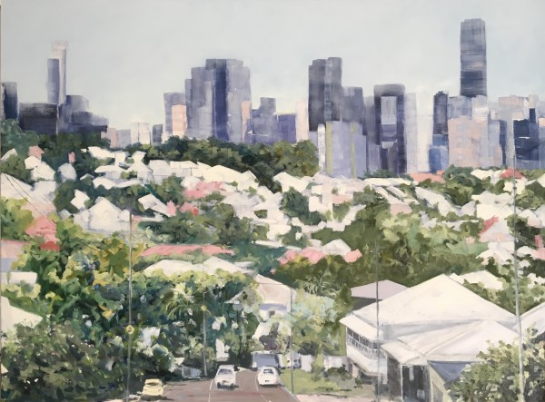 Upper Cairns Terrace, Brisbane. by Meredith Howse