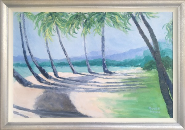 Palm Cove - Framed by Meredith Howse