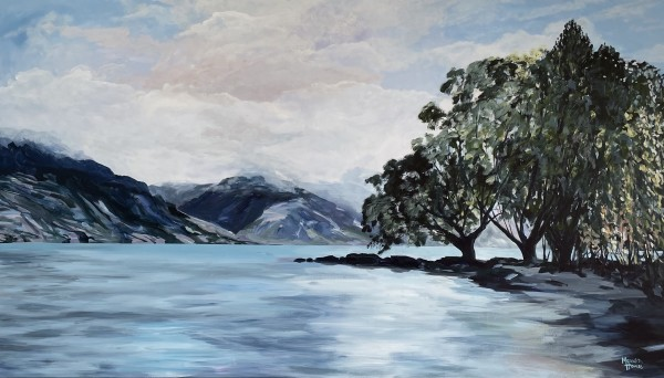 Wakatipu Lake, Queenstown by Meredith Howse