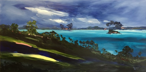 Turquoise Islands - Commission by Meredith Howse