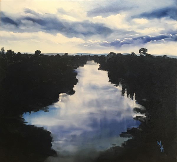 Waikato River 2 by Meredith Howse