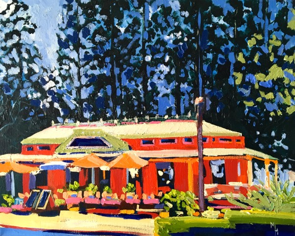 Poets Cafe, Montville by Meredith Howse