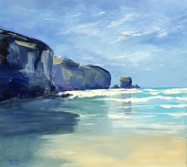 Tunnel beach by Meredith Howse