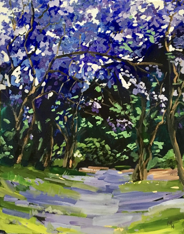 Jacarandas 2 by Meredith Howse
