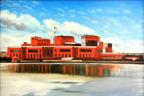 Old Power Station by Meredith Howse