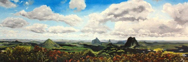 Glass House Mountains by Meredith Howse