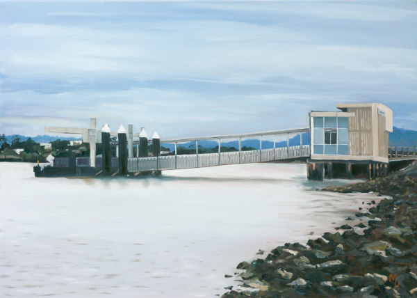 'Last Stop' Hamilton Ferry Pier by Meredith Howse