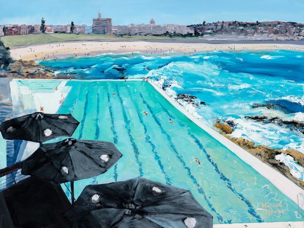Bondi Icebergs - Summer by Meredith Howse