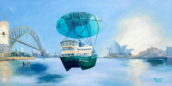 Sydney Harbour - Seaworthy by Meredith Howse