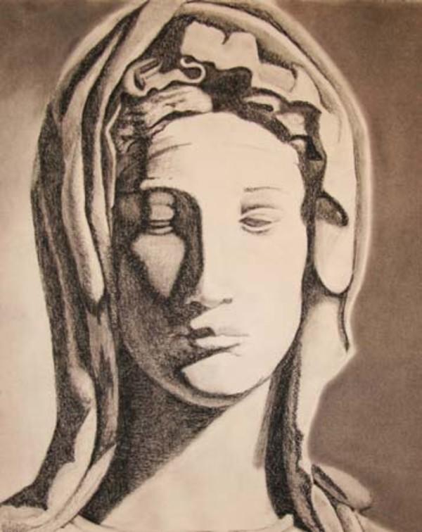 Madonna 1 by Kathy Ferguson