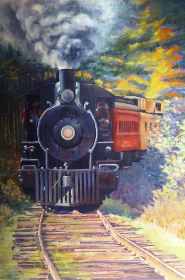 Roundup River Ranch Train by Kathy Ferguson