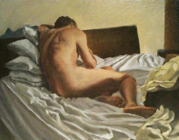 Rumpled Bed by Kathy Ferguson