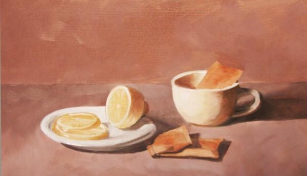 Tea with Lemon by Kathy Ferguson